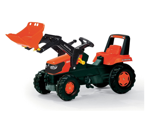 Request Kubota Pedal Tractor with Loader