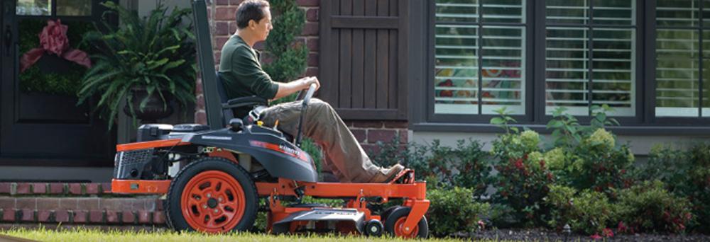 Kubota Lawn Mowers & Tractors