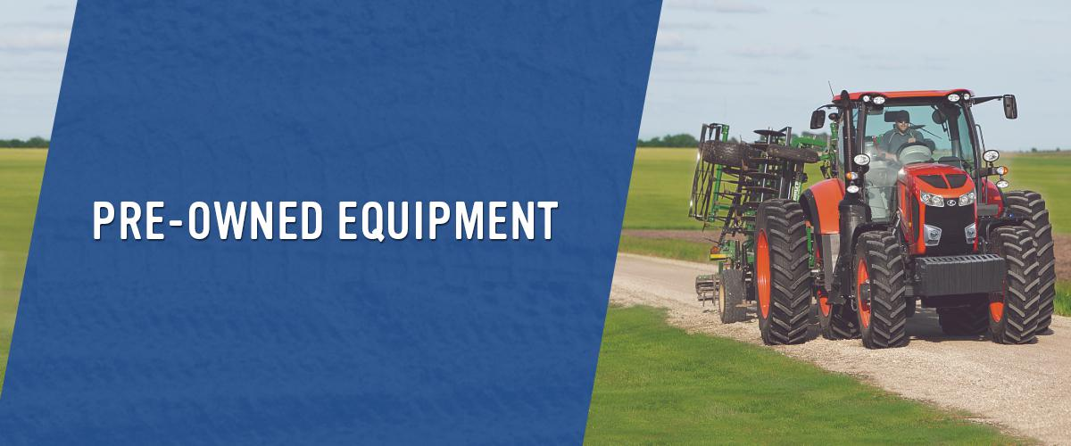 Preowned Equipment