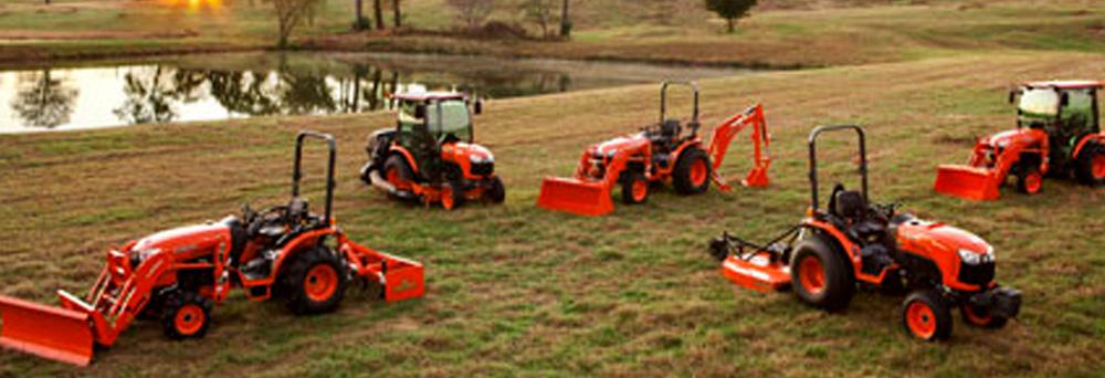 Kubota B-Series Tractors