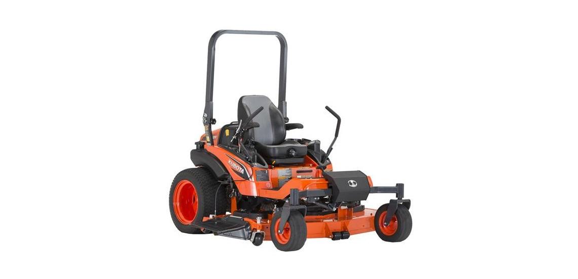 a 2019 Kubota ZD1211-60 lawn mower