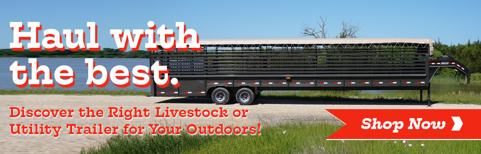 Shop Livestock or Utility Trailers in Bryan & College Station TX at Normangee Tractor!