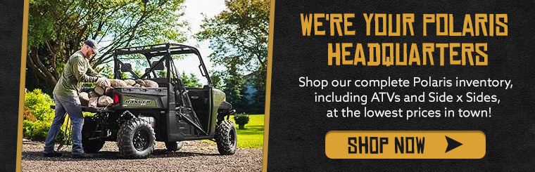 Shop Polaris ATVs, UTVs & More - including Rangers, RZRs, ACE & more!