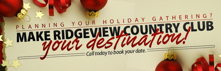 Events at Ridgeview Country Club