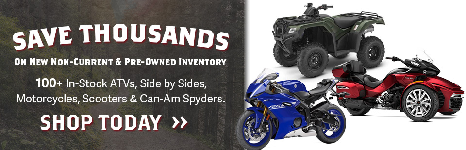 Save Thousands on Powersports at Fredericksburg Motor Sports in Washington DC