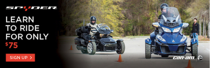 CanAm Spyder Rider Education