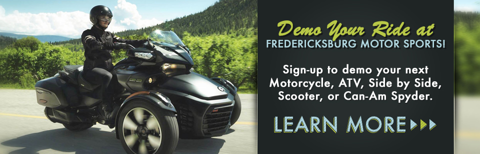 Schedule a Demo: Your Washington DC Destination for Powersports