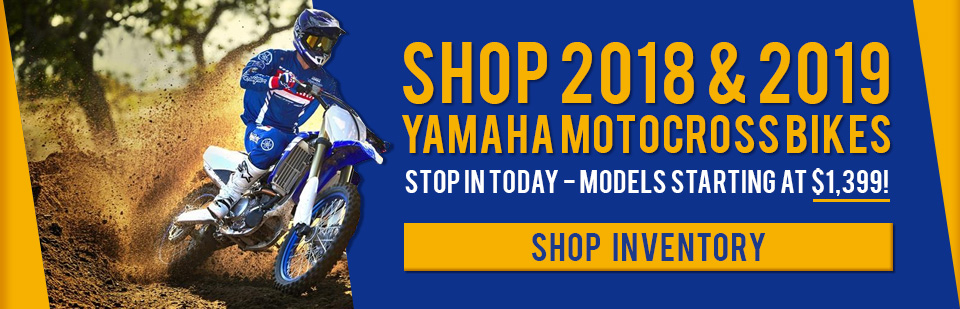 Shop Yamaha Motocross / Off-Road Bikes in Fredericksburg, VA