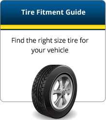 Tire Fitment Guide: Find the right size tire for your vehicle