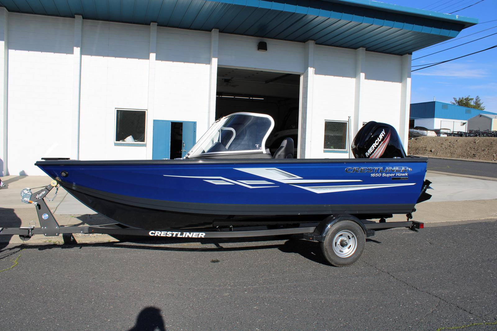 2019 Crestliner boat for sale, model of the boat is 1650 Super Hawk & Image # 1 of 6