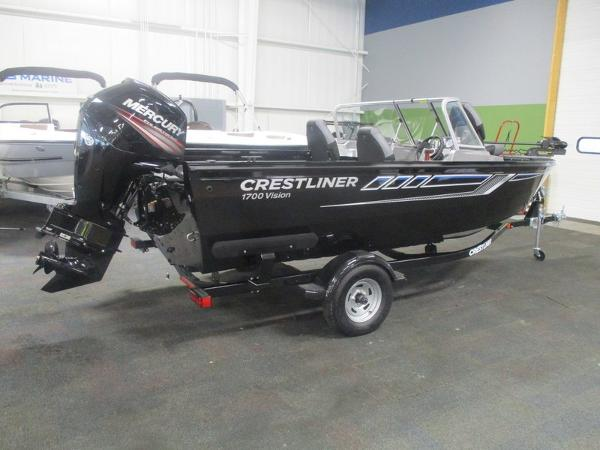 For Sale: 2019 Crestliner 1700 Vision 17ft<br/>Trudeau's Sea Ray - Spokane
