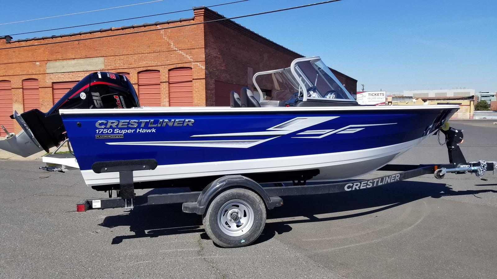 For Sale: 2019 Crestliner 1750 Super Hawk 18ft<br/>Trudeau's Sea Ray - Spokane
