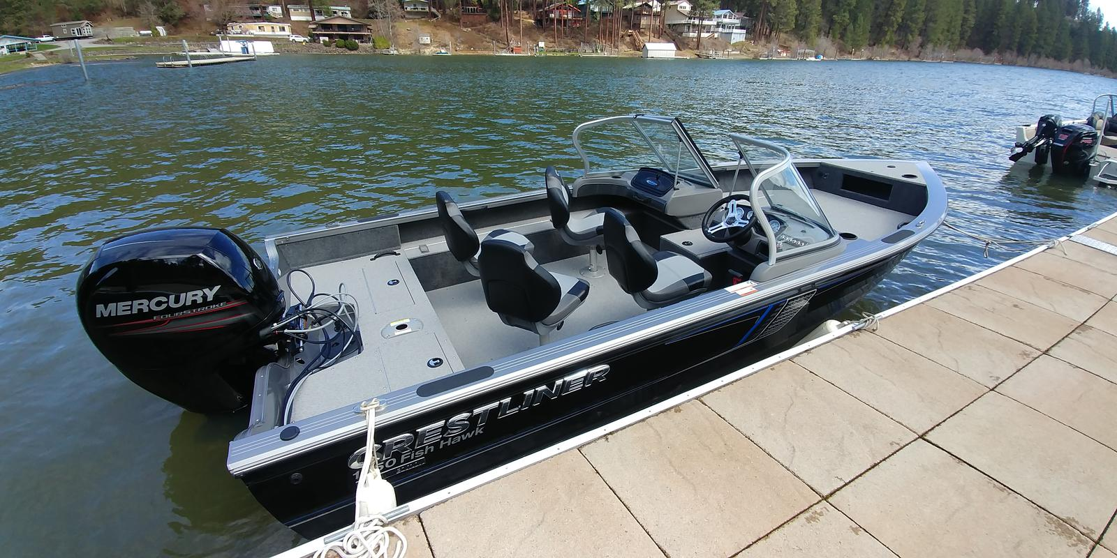 For Sale: 2018 Crestliner 1850 Fish Hawk Walk-through 19ft<br/>Trudeau's Sea Ray - Spokane