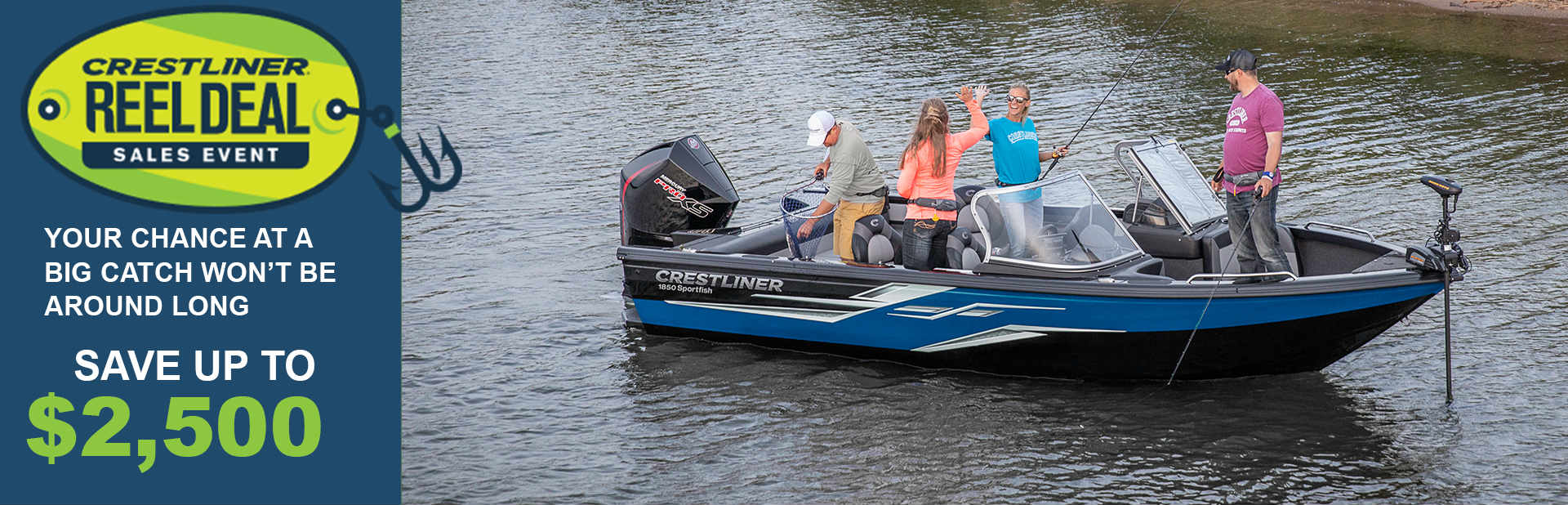 CRESTLINER REAL DEAL SALES EVENT