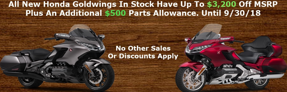 gold wing sale