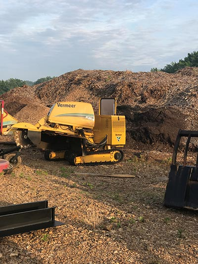 Commercial Grade Stump Grinding
