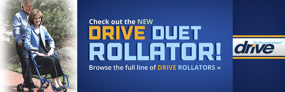 Check out the new Drive Duet rollator!