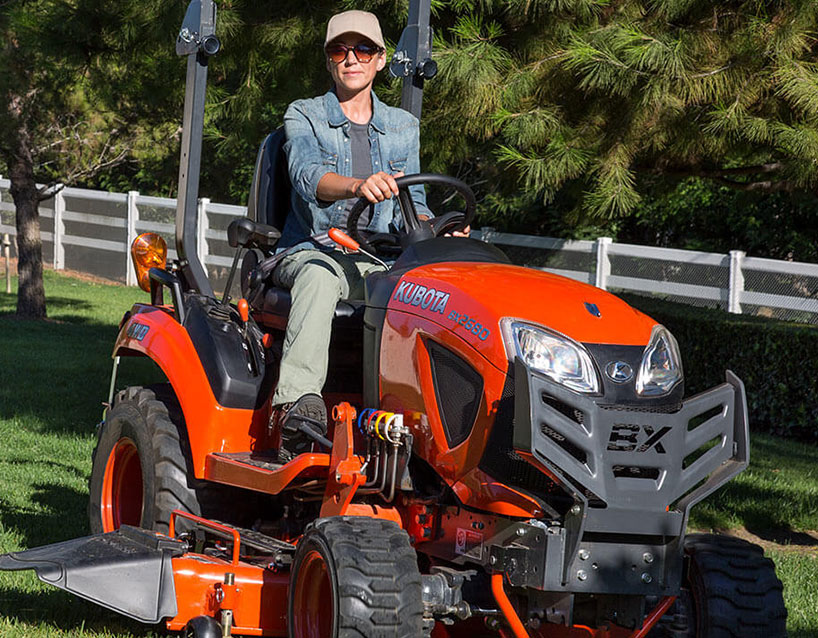 We carry the finest Kubota equipment!