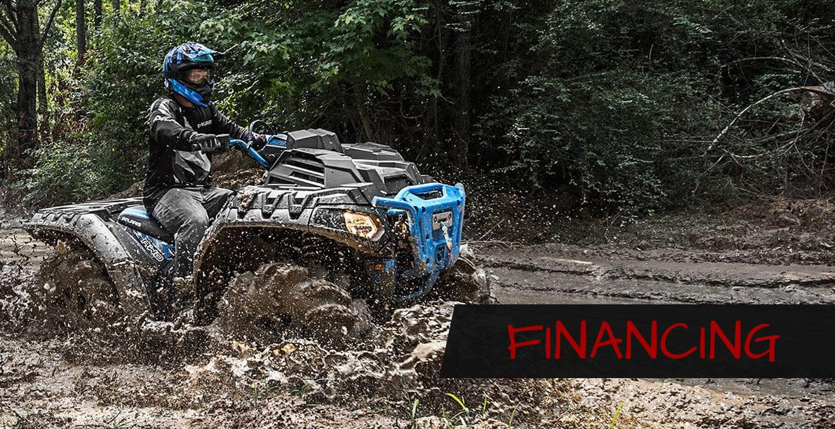 Finance your Polaris Ranger, Kawasaki TerryX & other powersports purchase at Platte Powersports in Platte, SD