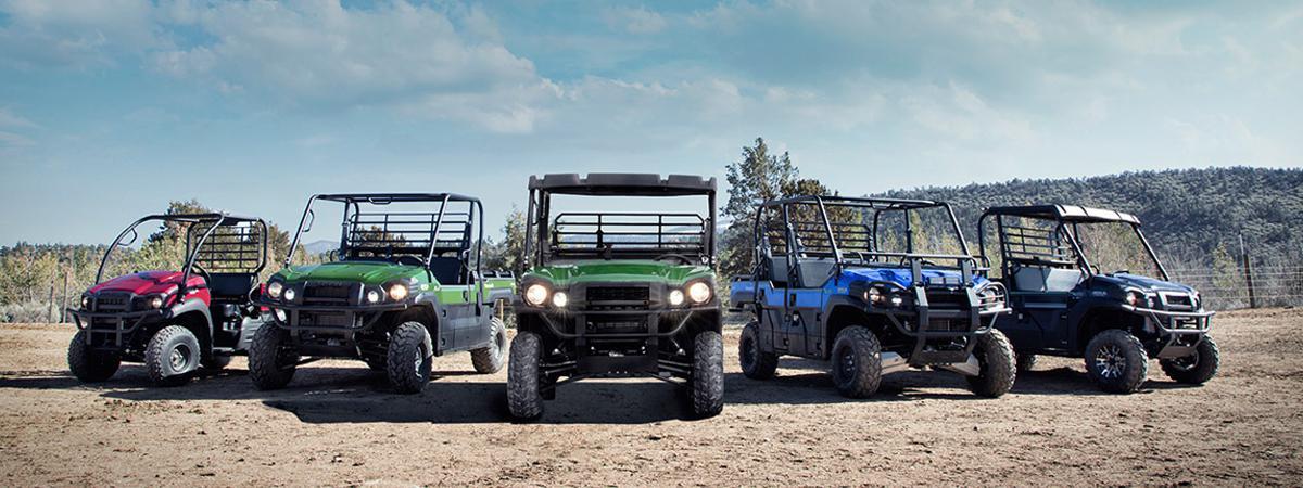 Kawasaki ATV and Side by Sides