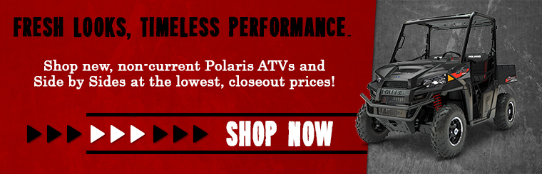 Shop Polaris ATV & Side x Sides Today!