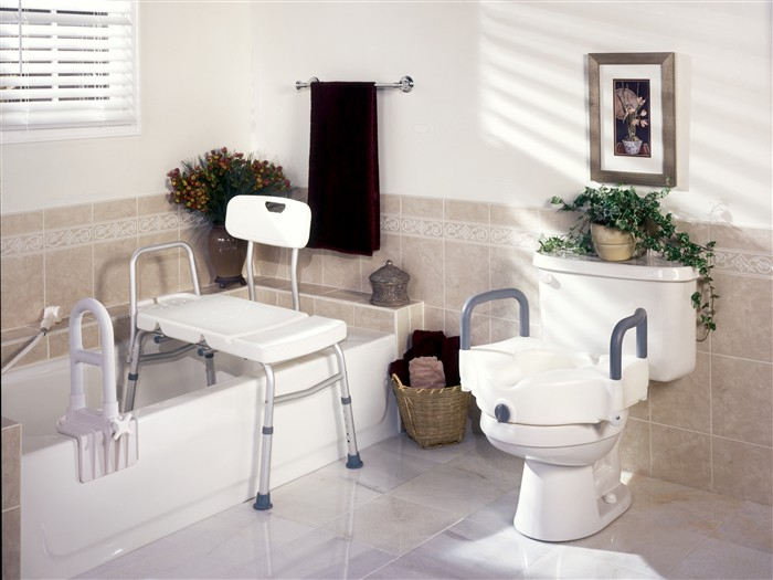 Bathroom Safety Products Integrated Medical Supplies Torrance CA - Handicap bathroom handrails