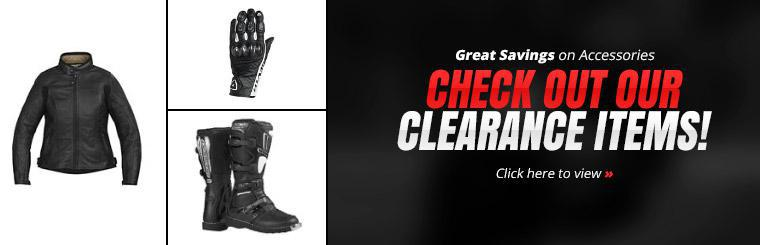 Great Savings on Accessories: Click here to check out our clearance items!