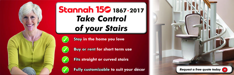 Stannah 150 - Take Control of your Stair