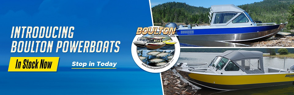 Introducing Boulton Powerboats: Click here to view the models.