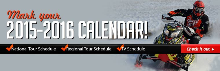 Mark your 2015-2016 calendar! Click here to view our race schedules.
