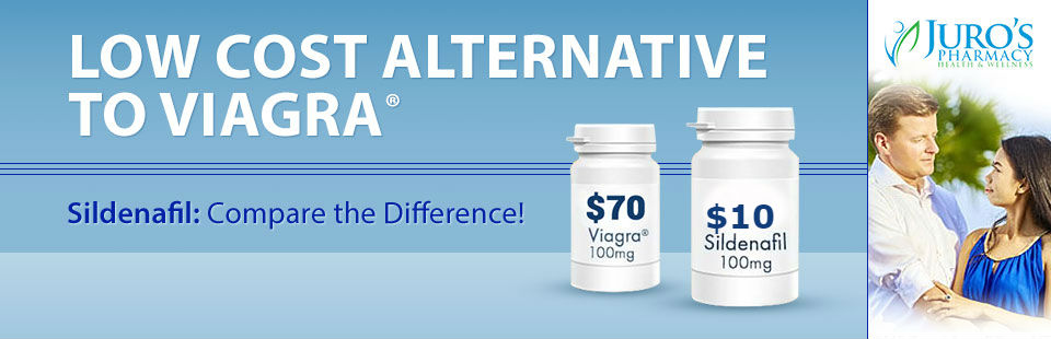 Sildenafil is the low cost alternative to Viagra®. Click here for more information!