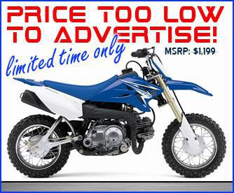 Yamaha TTR 50. Price Too Low To Advertise! Limited Time Only. MSRP Is
