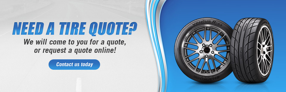 Need a tire quote? We will come to you for your quote! Call (605) 642-2580 today.