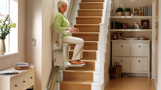 Stair Lifts - aka Chair Lifts, Stairlifts Martin Mobility - Austin ...