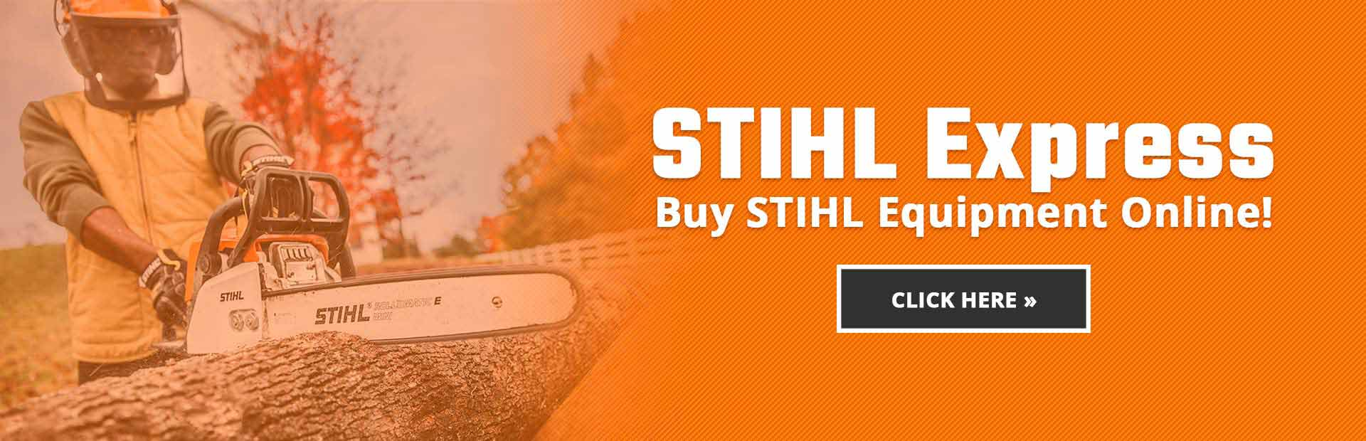 STIHL Express: Buy STIHL equipment online!