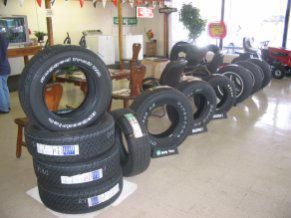 City Tire & Battery Showroom