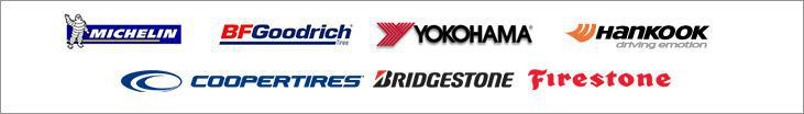 We carry products from Michelin®, BFGoodrich®, Yokohama, Hankook, Cooper, Firestone, and Bridgestone.