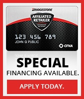Special financing available. Apply today.