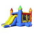 party castle combo bounce house