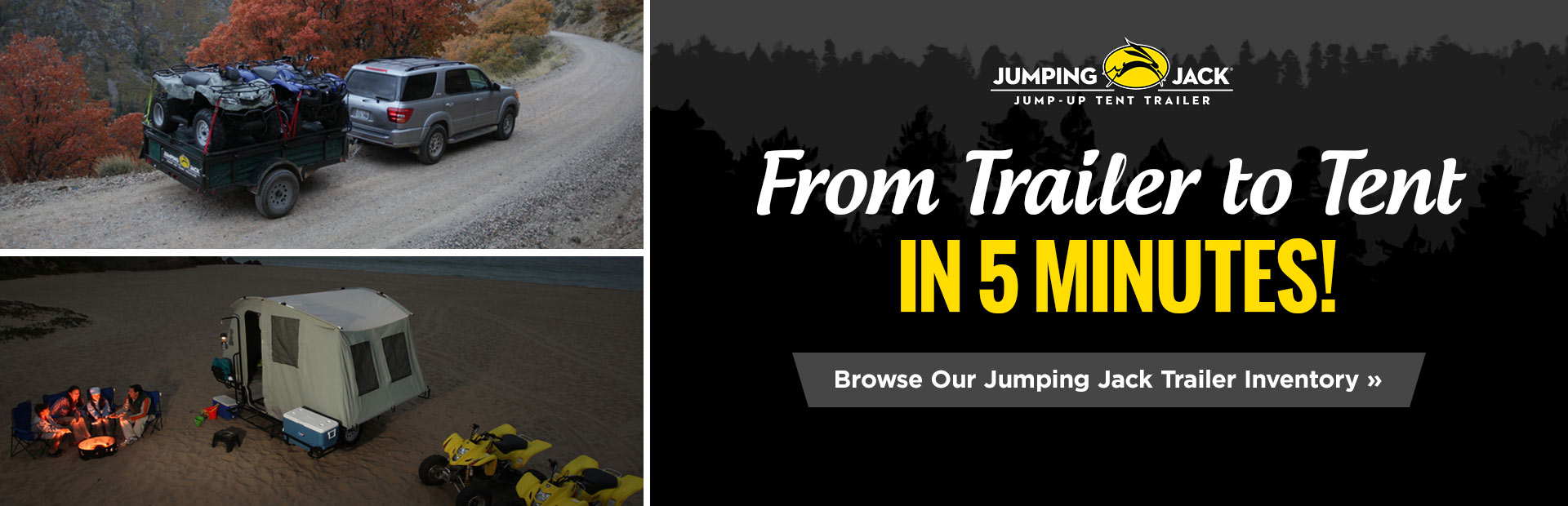Browse our Jumping Jack trailer inventory!