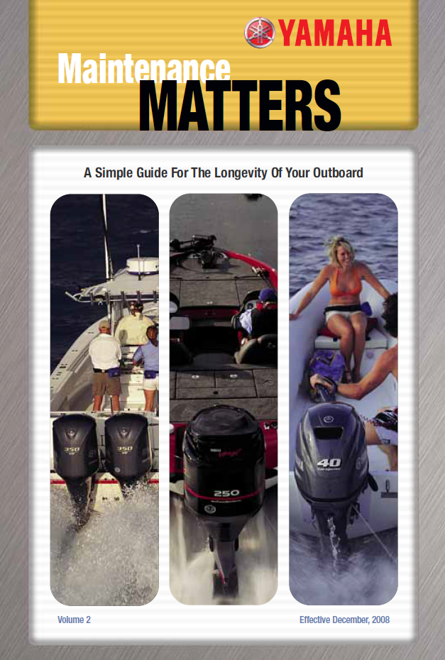 yamaha outboard maintenance matters deep creek marina