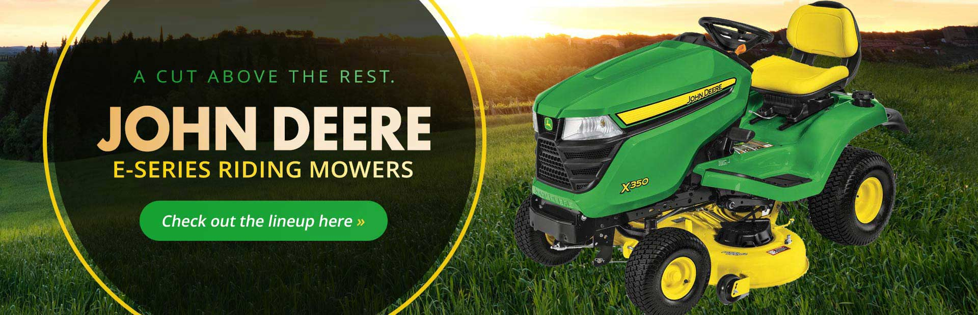 John Deere E-Series Mowers: Click here to view the models.