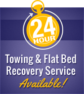 24 Hour Towing & Flat Bed Recovery Service Available!