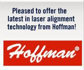 Pleased to offer the latest in laser alignment technology from Hoffman!