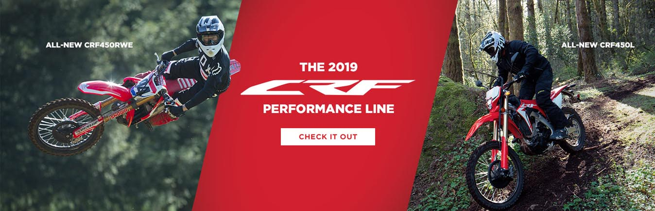 2019 CRF PERFORMANCE LINE - WINCHESTER VA