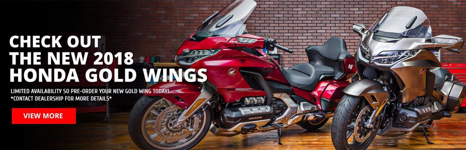 Pre-Order Your 2018 Honda Gold Wing!