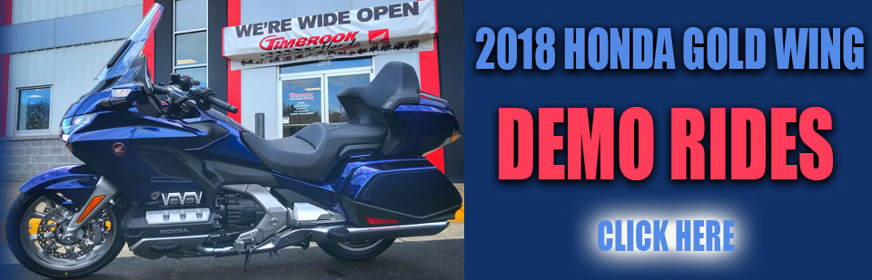 2018 HONDA GOLD WING DEMO RIDES
