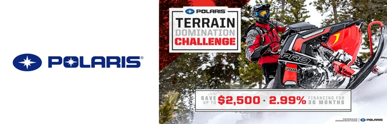 Save up to $2,500 with the Polaris Spring Sales Event!