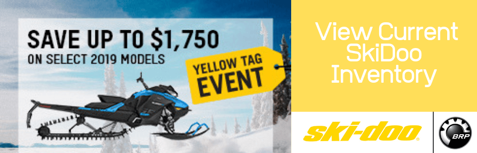 SkiDoo Yellow Tag August