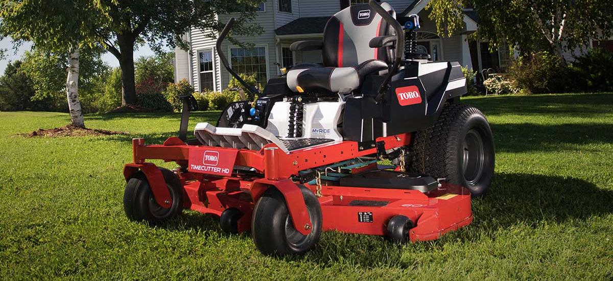For Tested Tough Performance Choose A Toro Mower